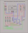 Однофазная трехпроводная проводка в квартире