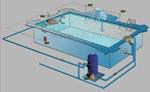 Места подключения приборов к сети 220 В в бассейне